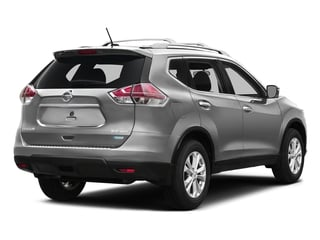 Brilliant Silver 2016 Nissan Rogue Pictures Rogue Utility 4D SV AWD I4 photos rear view