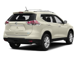 Pearl White 2016 Nissan Rogue Pictures Rogue Utility 4D SV AWD I4 photos rear view