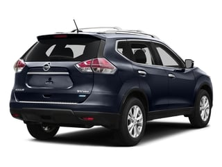 Arctic Blue Metallic 2016 Nissan Rogue Pictures Rogue Utility 4D SV AWD I4 photos rear view