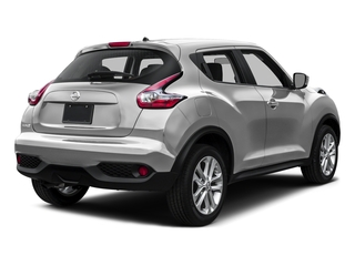 Brilliant Silver 2016 Nissan JUKE Pictures JUKE Utlity 4D S 2WD I4 Turbo photos rear view