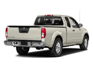 Glacier White 2016 Nissan Frontier Pictures Frontier King Cab SV 2WD photos rear view