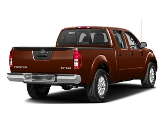 Forged Copper 2016 Nissan Frontier Pictures Frontier Crew Cab SV 4WD photos rear view