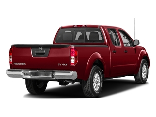 Lava Red 2016 Nissan Frontier Pictures Frontier Crew Cab SV 4WD photos rear view