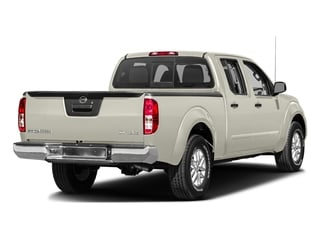 Glacier White 2016 Nissan Frontier Pictures Frontier Crew Cab SV 4WD photos rear view