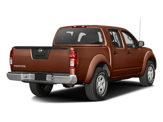 Forged Copper 2016 Nissan Frontier Pictures Frontier Crew Cab S 2WD photos rear view