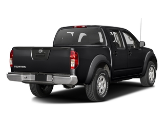 Magnetic Black 2016 Nissan Frontier Pictures Frontier Crew Cab S 2WD photos rear view