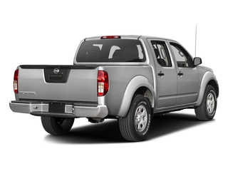 Brilliant Silver 2016 Nissan Frontier Pictures Frontier Crew Cab S 2WD photos rear view