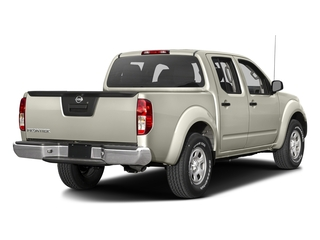 Glacier White 2016 Nissan Frontier Pictures Frontier Crew Cab S 2WD photos rear view