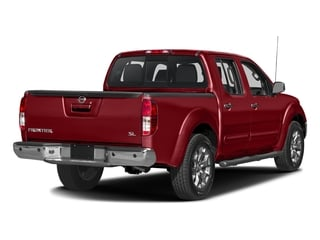 Lava Red 2016 Nissan Frontier Pictures Frontier Crew Cab SL 2WD photos rear view
