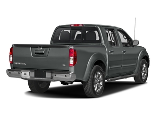 Gun Metallic 2016 Nissan Frontier Pictures Frontier Crew Cab SL 2WD photos rear view