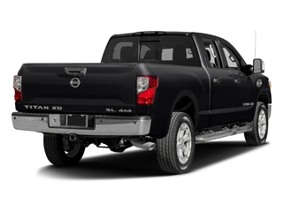 Magnetic Black 2016 Nissan Titan XD Pictures Titan XD Crew Cab SL 2WD V8 photos rear view