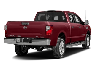 Cayenne Red 2016 Nissan Titan XD Pictures Titan XD Crew Cab SL 2WD V8 photos rear view