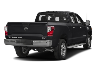 Magnetic Black 2016 Nissan Titan XD Pictures Titan XD Crew Cab SV 2WD V8 photos rear view