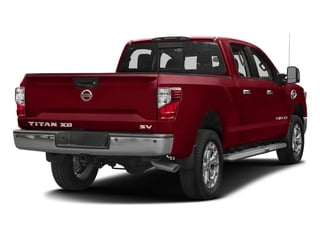 Cayenne Red 2016 Nissan Titan XD Pictures Titan XD Crew Cab SV 2WD V8 photos rear view