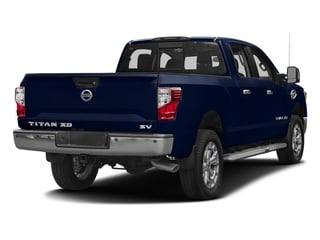 Deep Blue Pearl 2016 Nissan Titan XD Pictures Titan XD Crew Cab SV 2WD V8 photos rear view