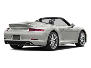 White 2016 Porsche 911 Pictures 911 Cabriolet 2D GTS H6 photos rear view