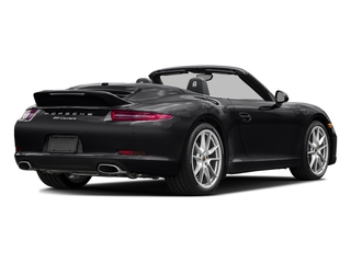 Black 2016 Porsche 911 Pictures 911 Cabriolet 2D GTS H6 photos rear view
