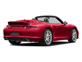 Guards Red 2016 Porsche 911 Pictures 911 Cabriolet 2D GTS H6 photos rear view