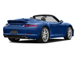 Sapphire Blue Metallic 2016 Porsche 911 Pictures 911 Cabriolet 2D GTS H6 photos rear view