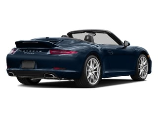 Dark Blue Metallic 2016 Porsche 911 Pictures 911 Cabriolet 2D GTS H6 photos rear view