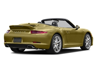 Lime Gold Metallic 2016 Porsche 911 Pictures 911 Cabriolet 2D GTS H6 photos rear view