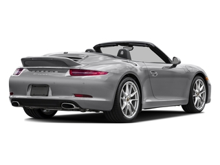 GT Silver Metallic 2016 Porsche 911 Pictures 911 Cabriolet 2D GTS H6 photos rear view