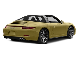 Lime Gold Metallic 2016 Porsche 911 Pictures 911 Coupe 2D 4 GTS Targa AWD H6 photos rear view