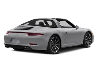 GT Silver Metallic 2016 Porsche 911 Pictures 911 Coupe 2D 4S Targa AWD photos rear view