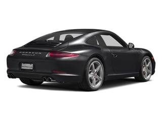 Black 2016 Porsche 911 Pictures 911 Coupe 2D S H6 photos rear view