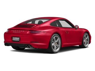 Guards Red 2016 Porsche 911 Pictures 911 Coupe 2D S H6 photos rear view