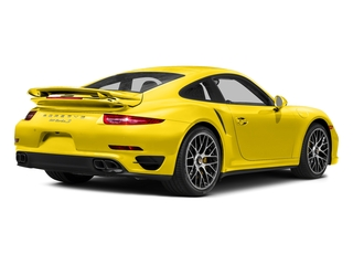 Racing Yellow 2016 Porsche 911 Pictures 911 Coupe 2D Turbo AWD H6 photos rear view