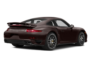 Mahogany Metallic 2016 Porsche 911 Pictures 911 Coupe 2D Turbo AWD H6 photos rear view