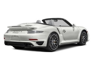 White 2016 Porsche 911 Pictures 911 Cabriolet 2D AWD H6 Turbo photos rear view