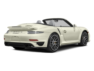 Carrera White Metallic 2016 Porsche 911 Pictures 911 Cabriolet 2D AWD H6 Turbo photos rear view