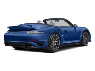 Sapphire Blue Metallic 2016 Porsche 911 Pictures 911 Cabriolet 2D AWD H6 Turbo photos rear view