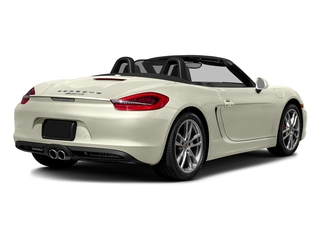 Carrera White Metallic 2016 Porsche Boxster Pictures Boxster Roadster 2D GTS H6 photos rear view