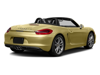Lime Gold Metallic 2016 Porsche Boxster Pictures Boxster Roadster 2D GTS H6 photos rear view