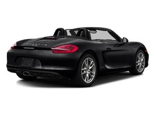 Black 2016 Porsche Boxster Pictures Boxster Roadster 2D H6 photos rear view