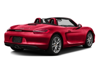 Guards Red 2016 Porsche Boxster Pictures Boxster Roadster 2D H6 photos rear view