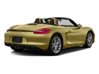 Lime Gold Metallic 2016 Porsche Boxster Pictures Boxster Roadster 2D H6 photos rear view