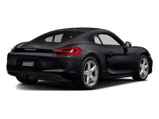 Black 2016 Porsche Cayman Pictures Cayman Coupe 2D H6 photos rear view