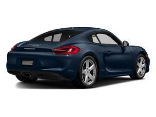 Dark Blue Metallic 2016 Porsche Cayman Pictures Cayman Coupe 2D H6 photos rear view