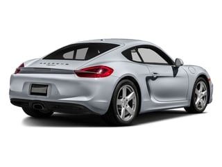 Rhodium Silver Metallic 2016 Porsche Cayman Pictures Cayman Coupe 2D H6 photos rear view