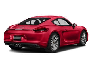 Guards Red 2016 Porsche Cayman Pictures Cayman Coupe 2D GTS H6 photos rear view