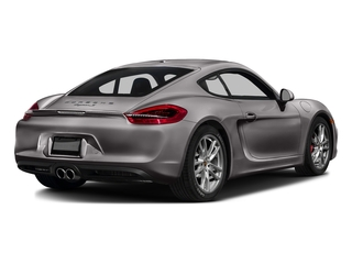 Agate Gray Metallic 2016 Porsche Cayman Pictures Cayman Coupe 2D GTS H6 photos rear view