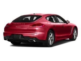 Carmine Red 2016 Porsche Panamera Pictures Panamera Hatchback 4D S Exec AWD V8 Turbo photos rear view