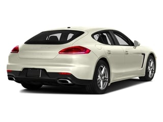 Carrara White Metallic 2016 Porsche Panamera Pictures Panamera Hatchback 4D 4S Exec AWD V6 Turbo photos rear view
