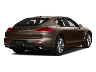 Chestnut Brown Metallic 2016 Porsche Panamera Pictures Panamera Hatchback 4D S Exec AWD V8 Turbo photos rear view
