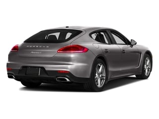 Agate Gray Metallic 2016 Porsche Panamera Pictures Panamera Hatchback 4D 4S Exec AWD V6 Turbo photos rear view