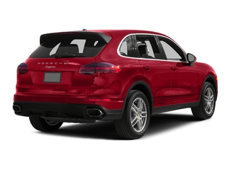 Carmine Red 2016 Porsche Cayenne Pictures Cayenne Utility 4D AWD V6 T-Diesel photos rear view